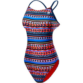 TYR Santa Fe Cutoutft Bathing Suit Women Black/Multi